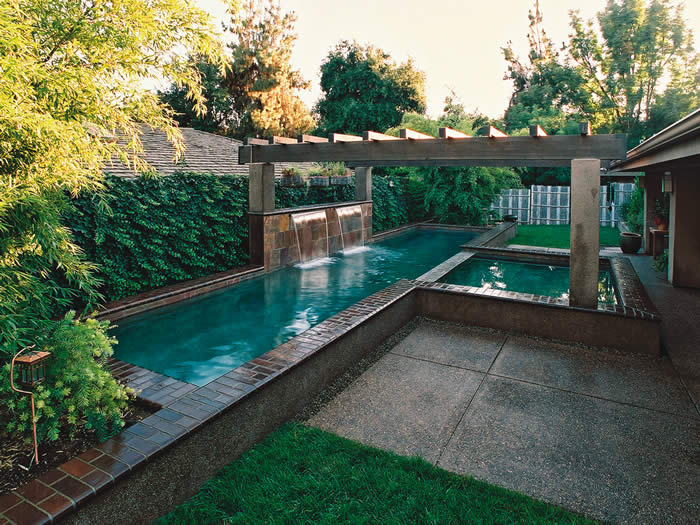 Swimming pool gallery award winning pools paradise - Swimming pool contractors apple valley ca ...