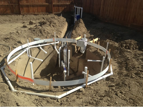 What is the pool plumbing process ask visalia pool for Pool plumbing design