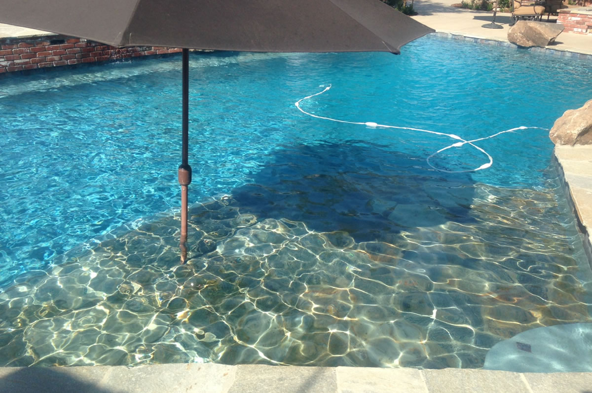 Hanford Pool Remodel Before Amp After Paradise Pools