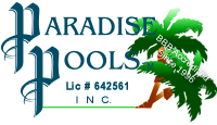 Visalia Pool Builders Paradise Pools™ logo