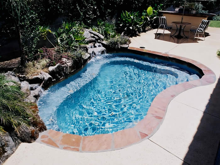 Swimming pool gallery spas paradise pools - Swimming pool contractors apple valley ca ...